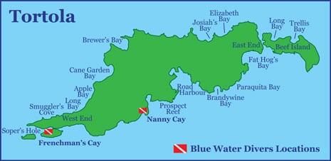Blue Water Divers British Virgin Islands