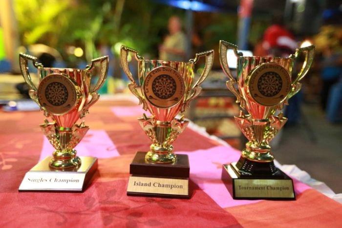 BVI Darts trophies