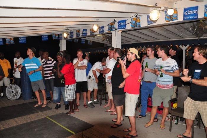 Fish n' Lime BVI darts tournament