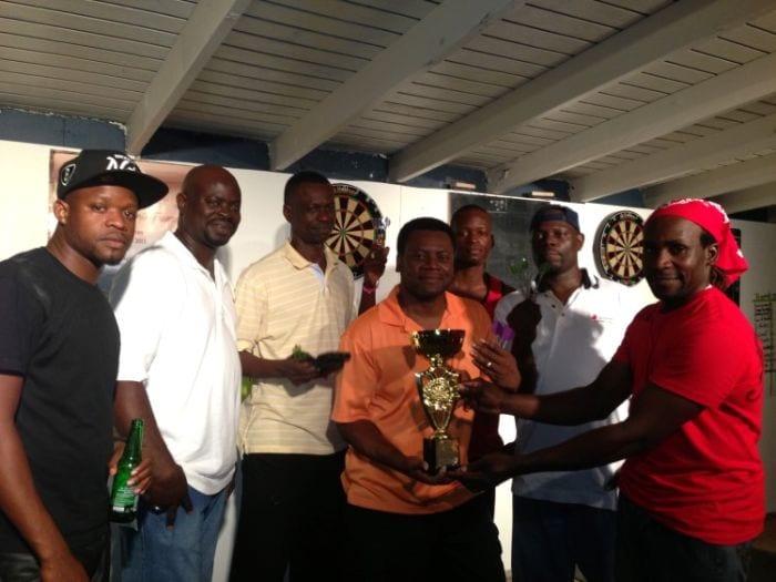 BVI darts winners
