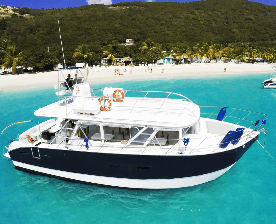 BVI Water Taxis are comfy
